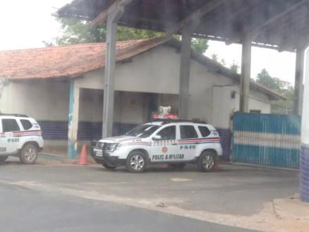 Viatura da Polícia Militar do Maranhão — Foto: João Ricardo / G1 Maranhão
