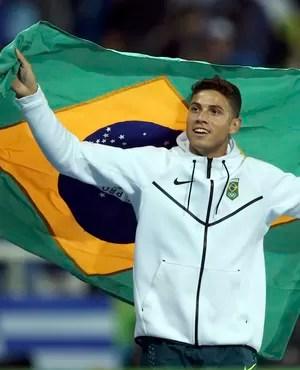 Thiago Braz se reinventa no Rio e troca pressão por topo do pódio (Foto: Reuters)