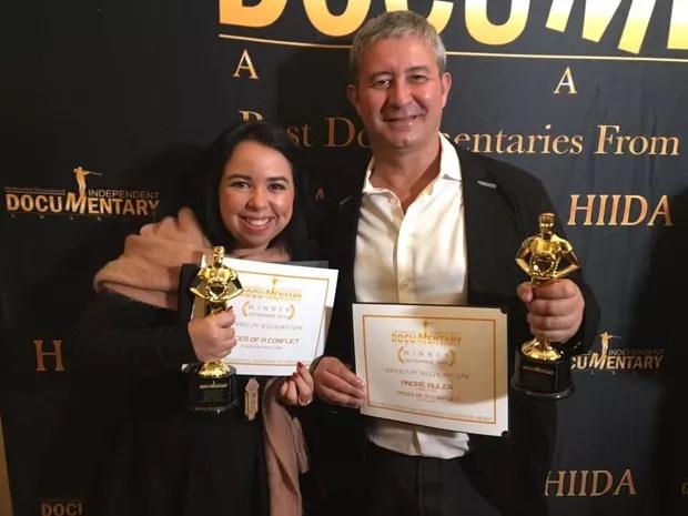 Produtora ganha prêmio no exterior com documentário (Foto: Arquivo pessoal)