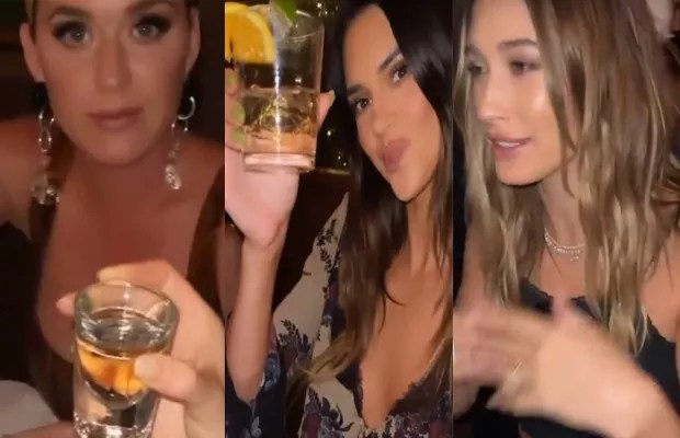 Kendall Jenner meets famous friends for tequila launch (Photo: Reproduction/Instagram)