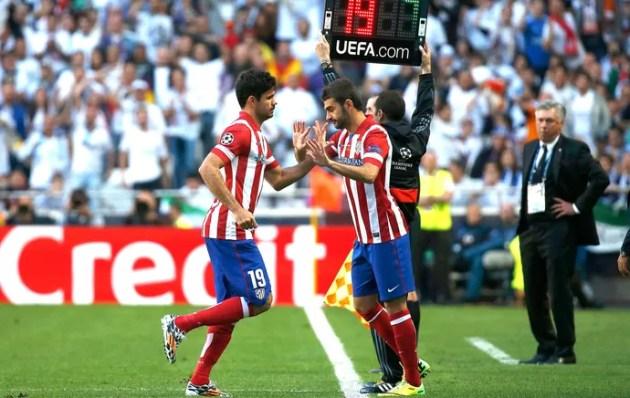 Diego Costa e Adrian Lopes Final Liga dos campeões (Foto: Agência Reuters)
