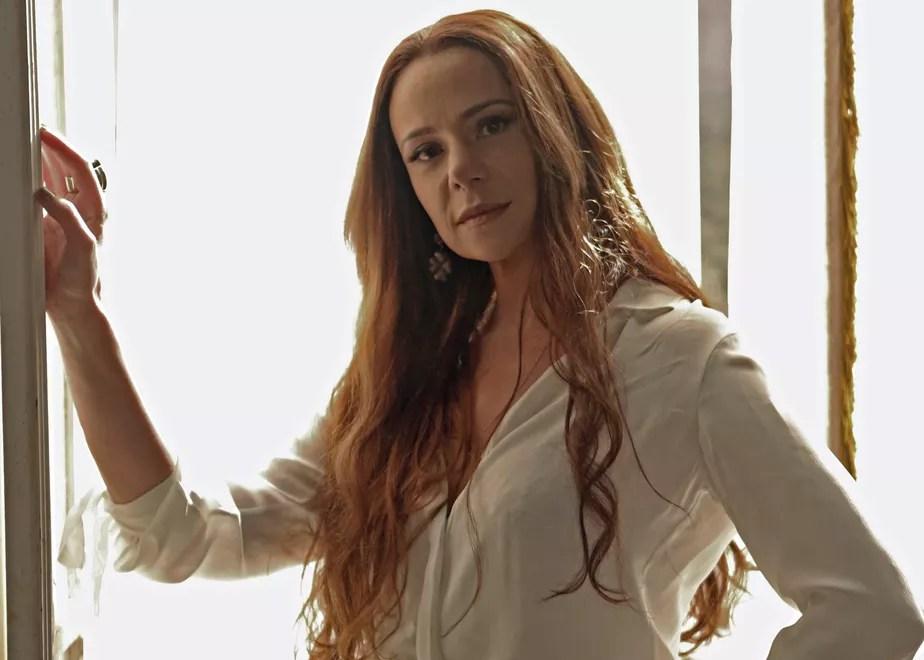 Resultado de imagem para A atriz Vanessa Gerbelli Novo Mundo