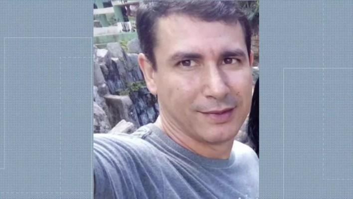 Marcelo Cavalcanti Gomes confessou o crime à polícia (Foto: Reprodução/ TV Globo)