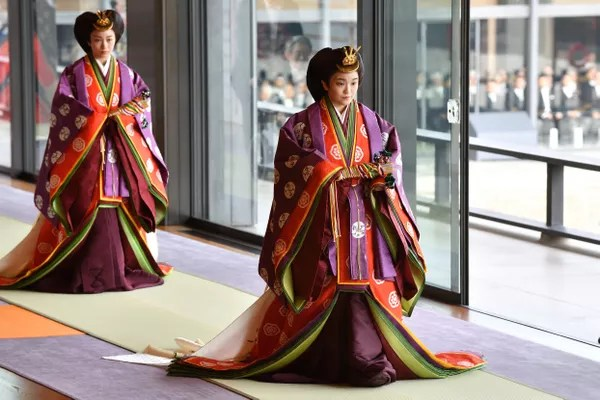 Princess Mako at Tokyo Imperial Palace event (Photo: Getty Images)