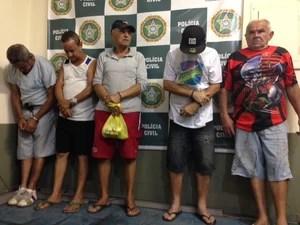 Suspeitos vão responder por estupro de vulnerável e exploração sexual (Foto: Cristiane Cardoso/G1)