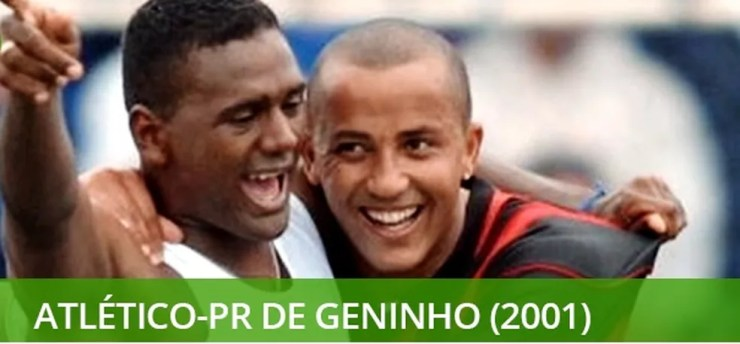 Melhores times do século - Atlético-PR campeão brasileiro — Foto: Info esporte
