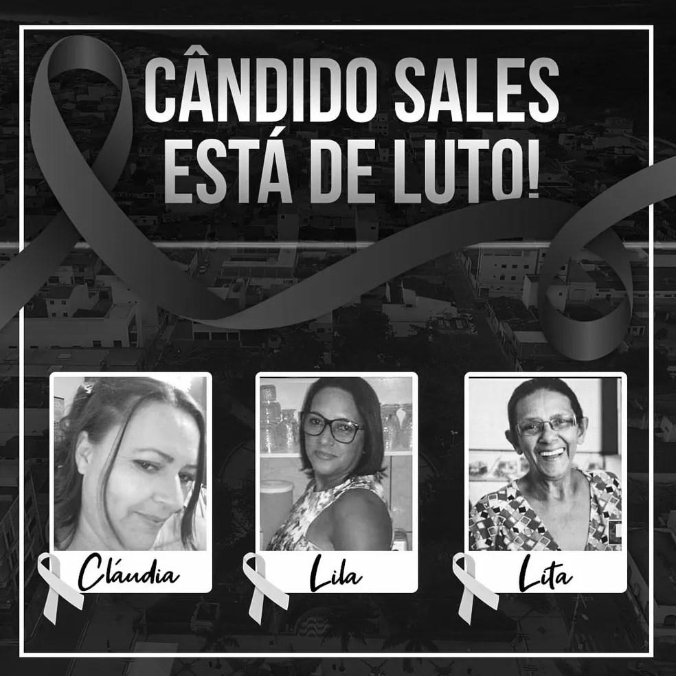 Mãe e filhas morrem de Covid-19 no espaço de oito dias em cidade do sudoeste da Bahia — Foto: Reprodução / Redes Sociais