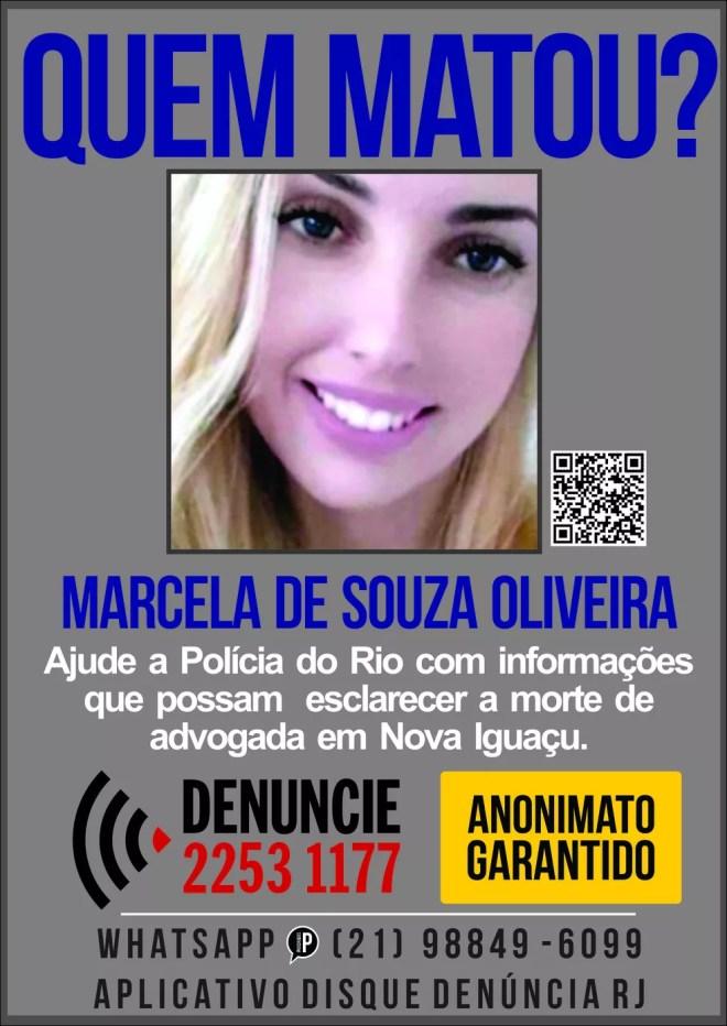 Marcela de Souza Oliveira — Foto: Reprodução