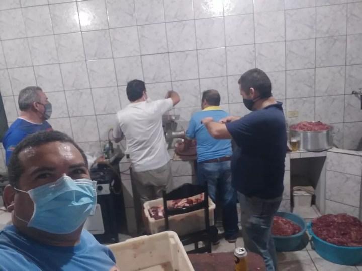 Campanha 'O Essencial não Para' - Cassilândia — Foto: PM/Divulgação