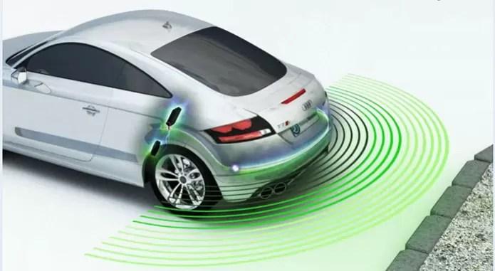 Sensores de estacionamento em carros usam sensor do tipo acústico (Foto: Reprodução/Parking Dynamics) (Foto: Sensores de estacionamento em carros usam sensor do tipo acústico (Foto: Reprodução/Parking Dynamics))