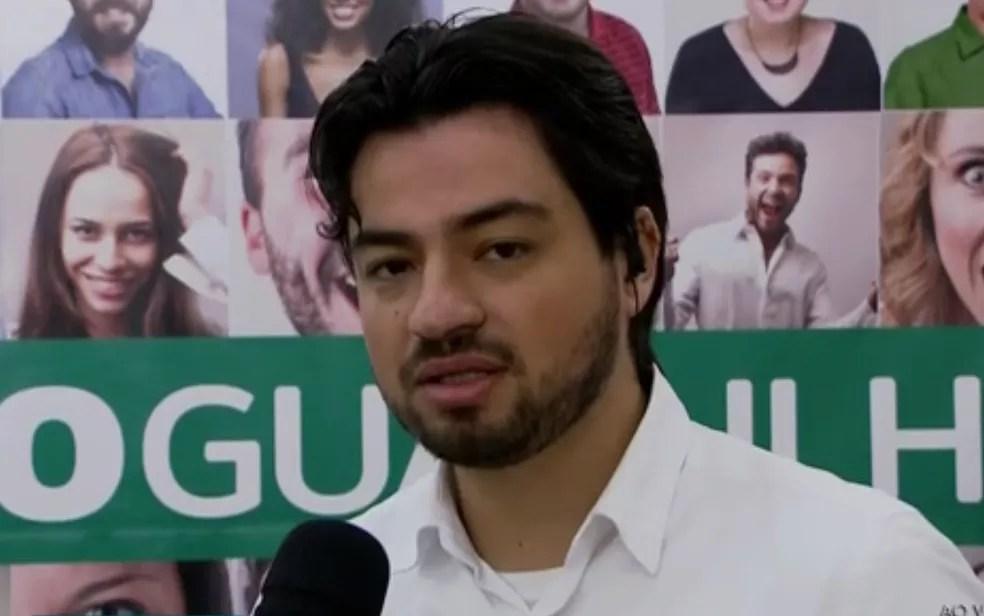 Prefeito eleito de Guarulhos, Guti (Foto: Reprodução/ TV Globo )