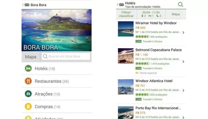 TripAdvisor tem app para Android, iOS, Windows Phone e Nokia (Foto: Divulgação)