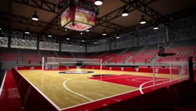 Arena Multiuso do Flamengo (Foto: Divulgação)