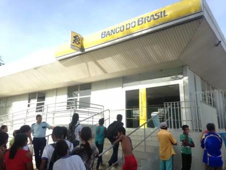 Banco do Brasil em Ipubi, PE (Foto: Álison Édypo Alencar da Silva/Arquivo pessoal)