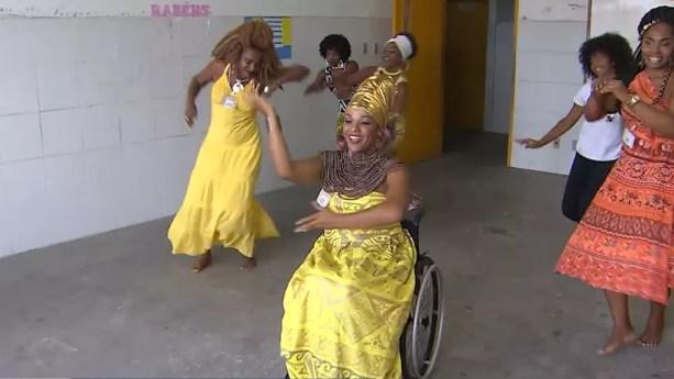 Seleção contou com mais de 100 candidatas em Salvador — Foto: TV Bahia