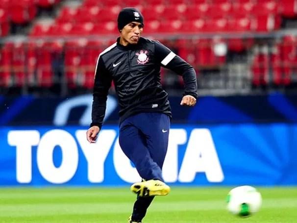 No jogo de quarta, o Timão faz sua estreia no Mundial (Foto: Marcos Ribolli / Globoesporte.com)