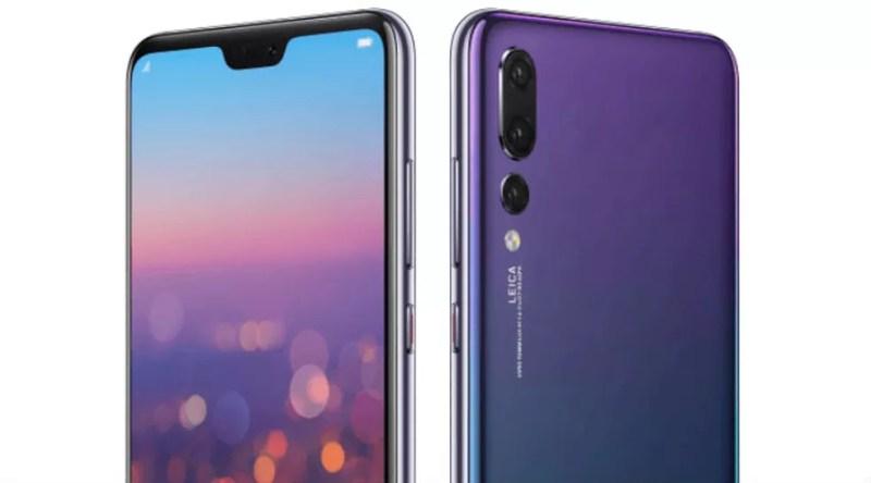 Huawei P20 Pro tem recorte na tela à la iPhone X (Foto: Divulgação/Huawei)