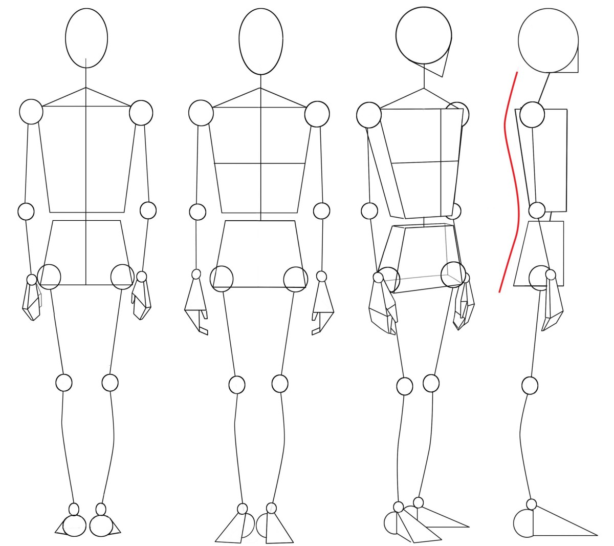 Drawing The Human Figure Angles Amp Proportions