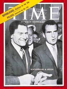 Rockefeller y Nixon