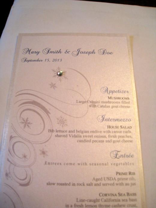 Tyrickas Blog CUSTOMIZED WINTER WONDERLAND WEDDING