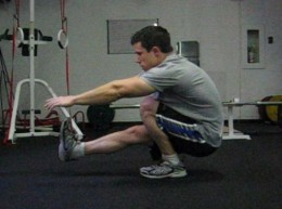 One legged squat