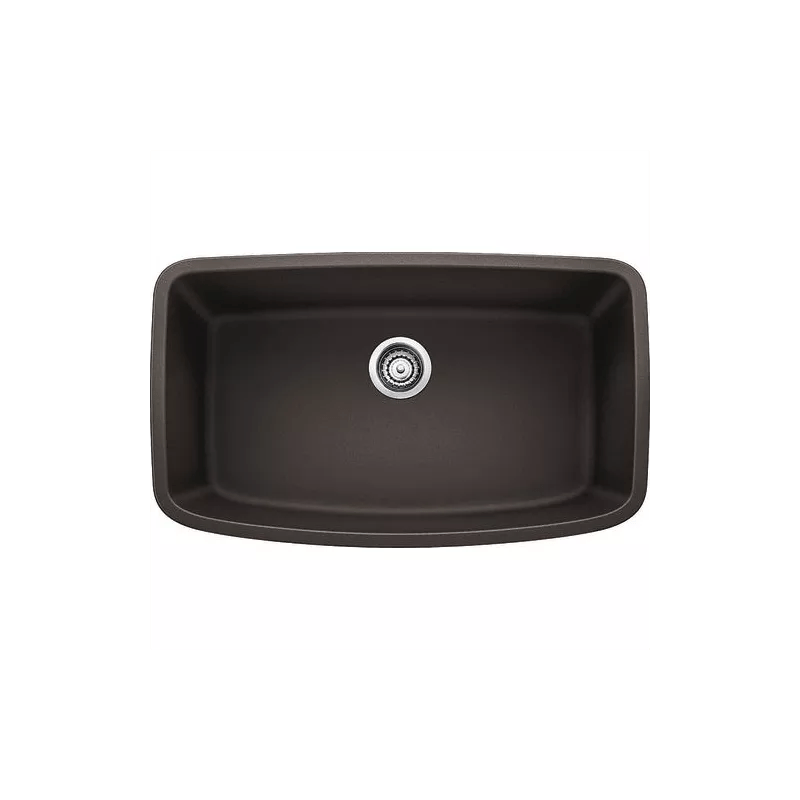 Blanco 441613 Cafe Brown Valea 30 Single Basin Undermount Silgranit II Kitchen Sink