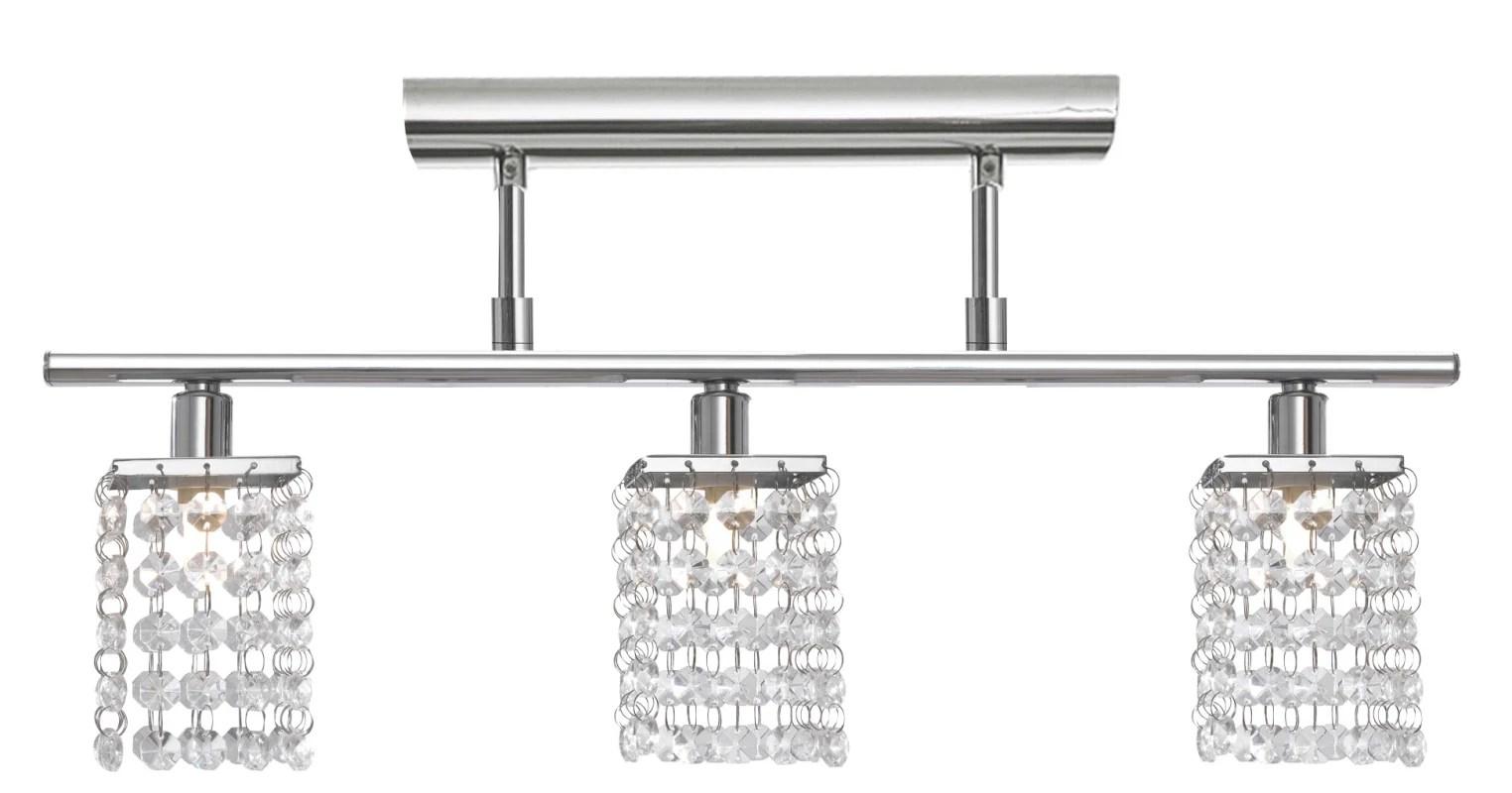 Eglo A Chrome Pyton Three Bulb Ceiling Fixture
