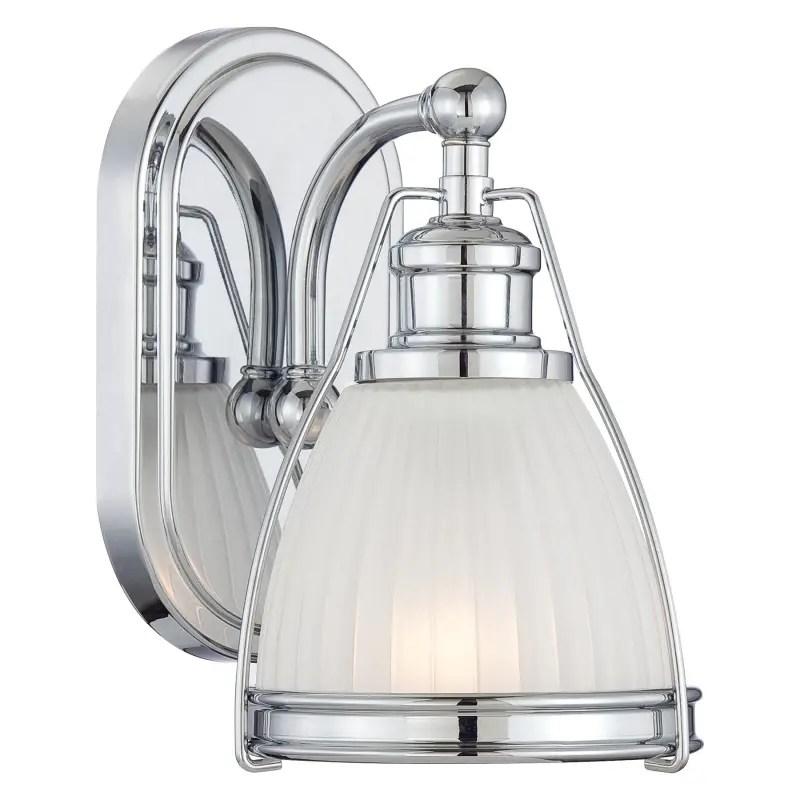 "Minka Lavery 5791-77 Chrome 1 Light 9"" Height Bathroom ... on Height Of Bathroom Sconce Lights id=94159"