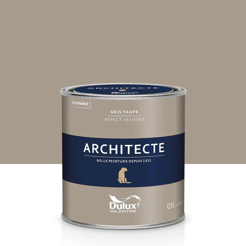 Peinture Gris Taupe Velours DULUX VALENTINE Architecte 05