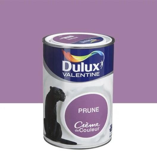 Peinture Violet Prune DULUX VALENTINE Crme De Couleur 1