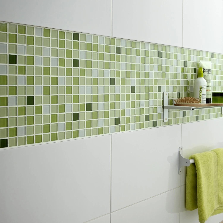 carrelage salle de bain vert bright