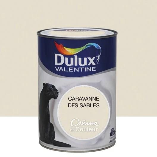 Peinture Beige Caravane DULUX VALENTINE Crme De Couleur 1