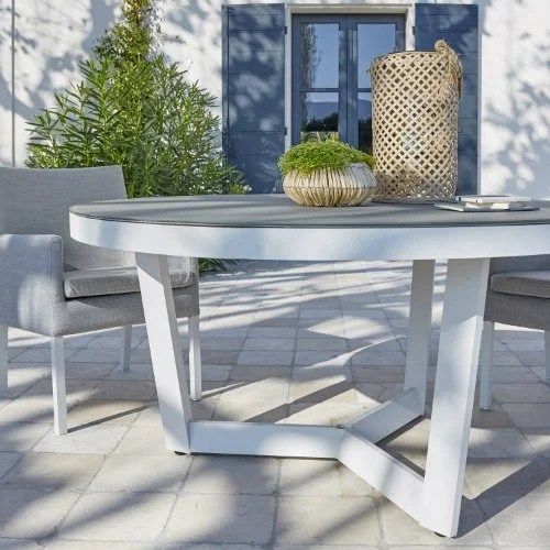 Salon de jardin  Table et Chaise   Mobilier de jardin   Leroy Merlin Table de jardin