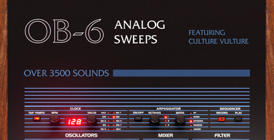 OB-6 Analog Sweeps Feat. Culture Vulture