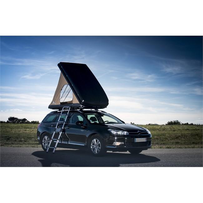 accessoires de plein air tente et couchage tente hussarde duo sur toit de voiture naitup
