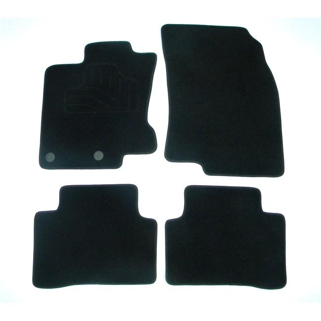 tapis tapis sur mesure jeu complet de tapis sur mesure noirs en moquette norautodescription