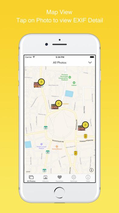 EXIF Viewer by Fluntro - View, Remove GPS Metadata Screenshot