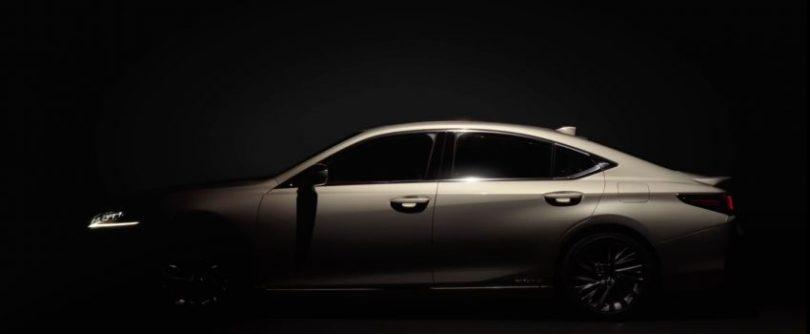 原厂释出官图造势,新一代 2019 Lexus ES 造型提前曝光 Image #66336