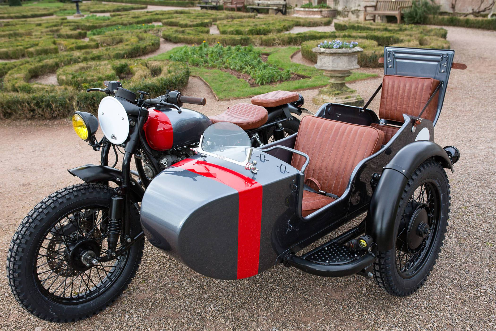 Kevils Speed Shop Four Seater Ural Sidecar Custom
