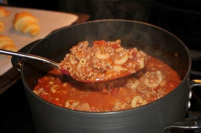 Paula Deen's Goulash Recipe 2 | Just A Pinch Recipes