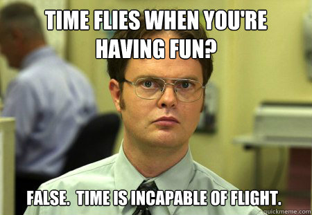 Image result for time flies when you're having fun gif