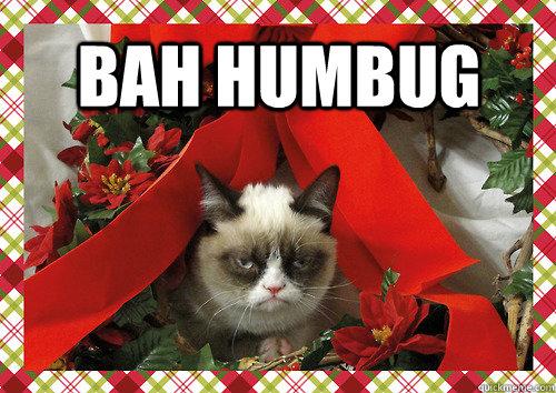 Bah Humbug Merry Christmas Quickmeme