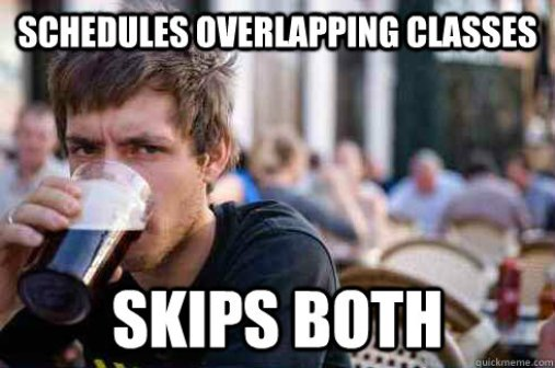 Image result for overlapping classes college