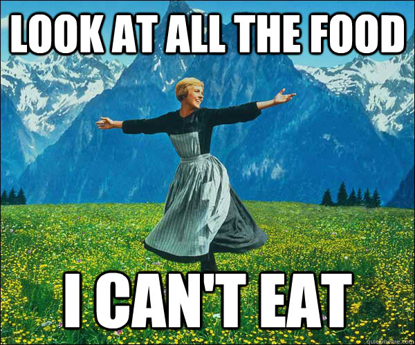Image result for look at all the things i can't eat