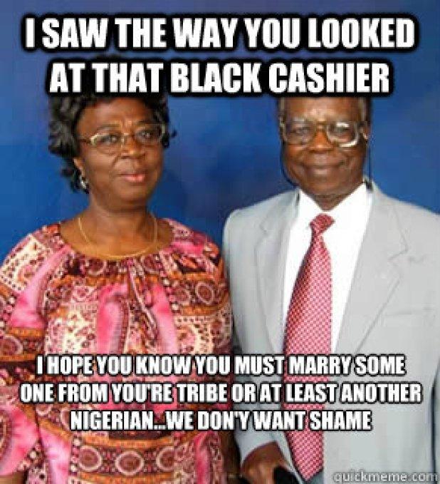 Image result for marry nigerian meme