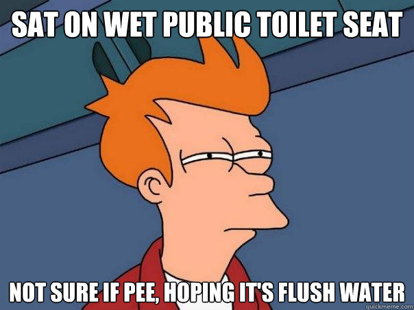 Image result for public toilet meme