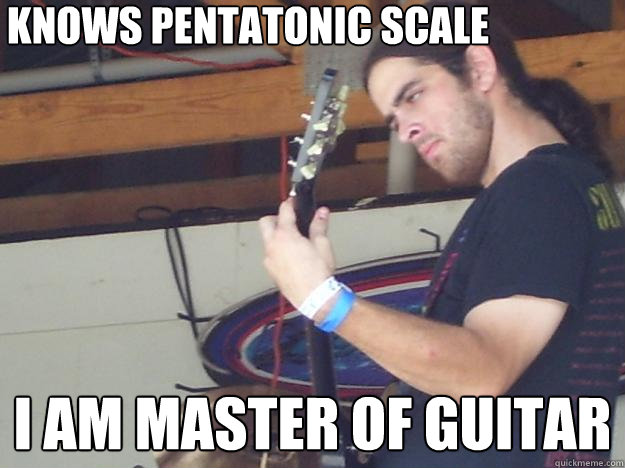 Image result for guitar scales meme