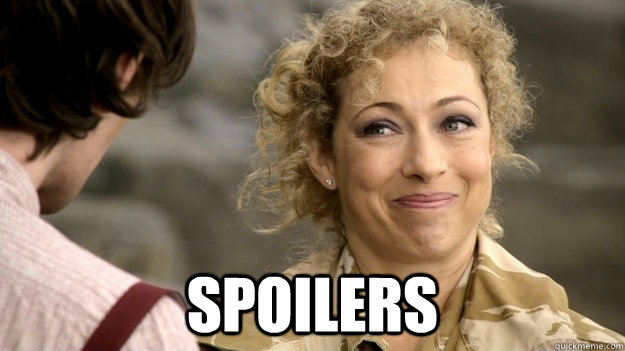Image result for river Song Spoilers