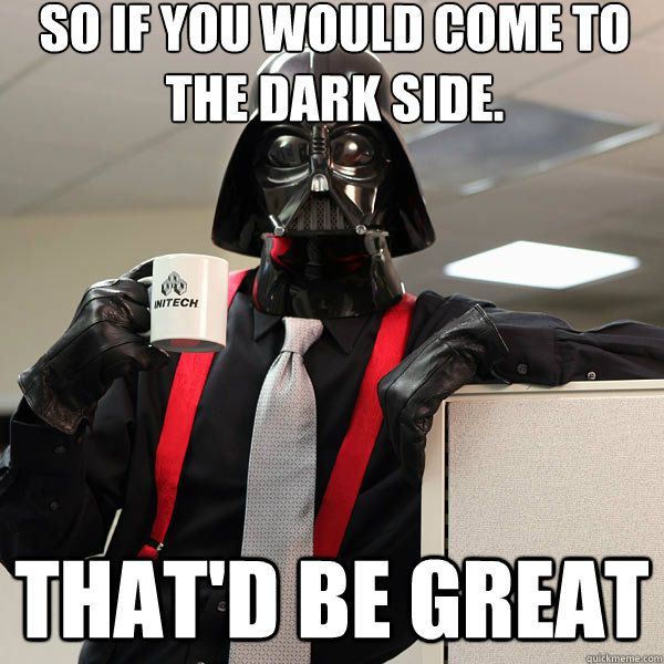 Image result for darth vader meme