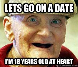 Dating older guy meme